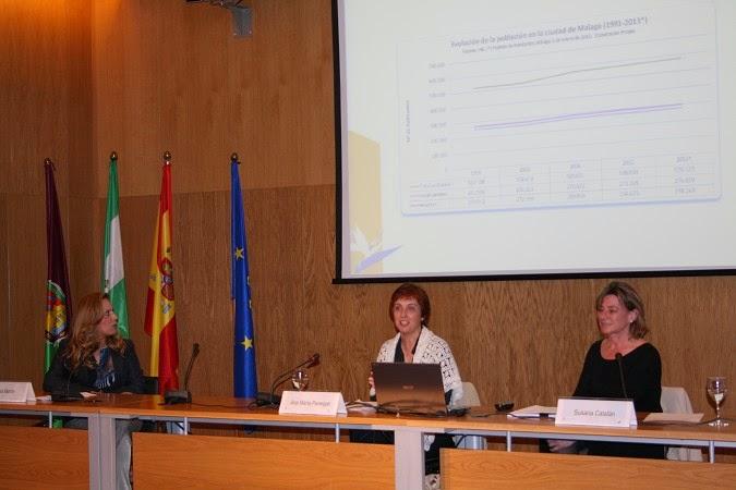 Conferencia OMAU. Mujer y Empleo en Málaga