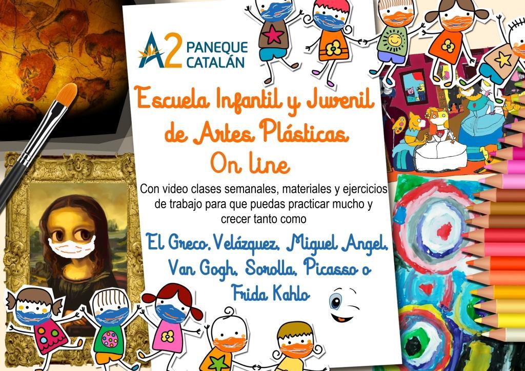 A2PC Escuela de Artes Plásticas On Line curso 2021