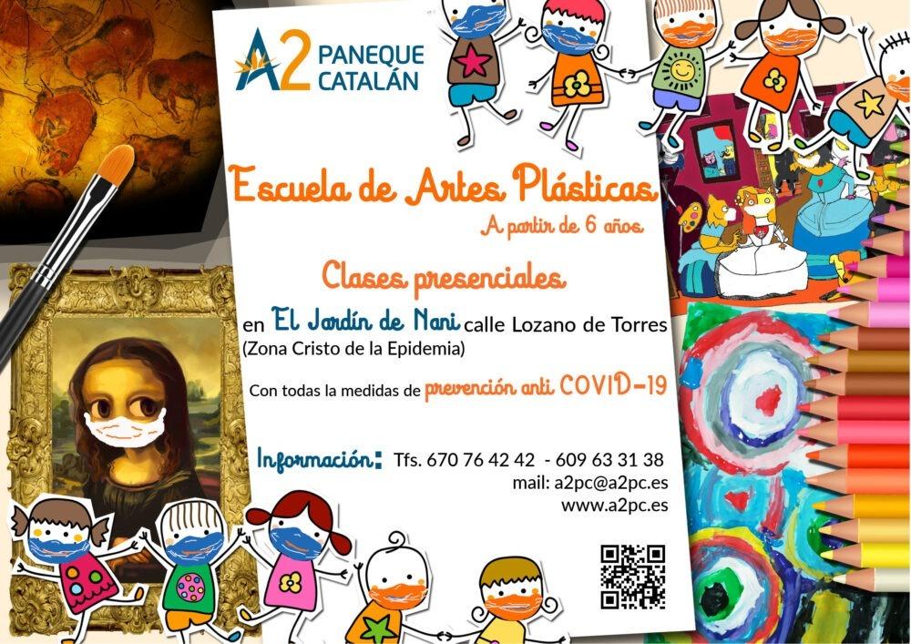 A2PC Escuela de Artes Plásticas Presencial curso 2021